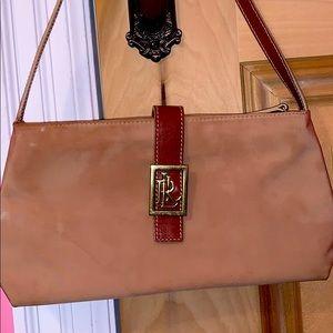 Lauren Ralph Lauren Equestrian Bag Beige
